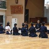 『本日の稽古(古沢小学校最終稽古)』の画像