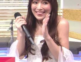 厚塗りの化粧が割れた!? 浜崎あゆみの顔面劣化がMステ生中継で赤裸々に!