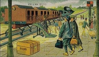 1910年に未来を予想して描かれた21世紀の絵が凄すぎるwwwwwwwww