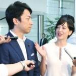 【朗報】小泉進次郎と滝川クリステルが結婚&妊娠報告!