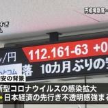 『【警告】新型コロナウイルスでインバウンド壊滅!リーマンショック級の経済損失は免れず、日経平均は2万円を下回る!』の画像