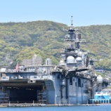 『佐世保軍港クルーズ(2017年4月23日)』の画像