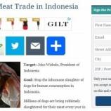 『インドネシアの犬肉市場廃止への嘆願書』の画像