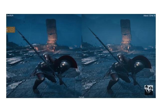 『アサクリオデッセイ』SwitchとXbox版を比較した結果