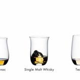 『【新商品】〈リーデル・オー シリーズ>に3つの蒸留酒用グラスが仲間入り』の画像