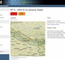 【速報】 ネパールで巨大地震発生 M7.5