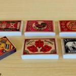 明治~昭和初期のマッチ箱がメモ帳になってガチャに登場!「レトロ浪漫マッチ箱メモ帳」