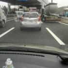 『車引き取り後は大渋滞に』の画像