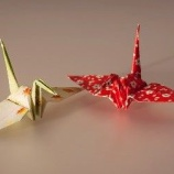 『折り紙の鶴』の画像