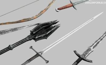 Isilmeriel's LOTR Weapons