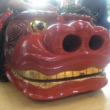 『【小木・琴浦】赤い獅子は祭りカラー!』の画像