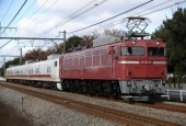 『2016/11/28運転 EF81-81牽引キヤE193系East-D回送』の画像