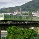 最後の力走を続ける奈良線の103系