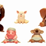 サウナでまったり疲れを癒す動物たち!ガチャフィギュア「どうぶつサウナ3」が登場!