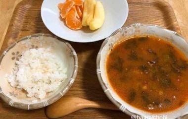 『【考えごと・食べること】ご飯にパターンを決める。』の画像