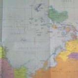 『逆さま地図』の画像