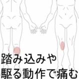 『膝の痛みの症例報告です 室蘭登別すのさき鍼灸整骨院』の画像