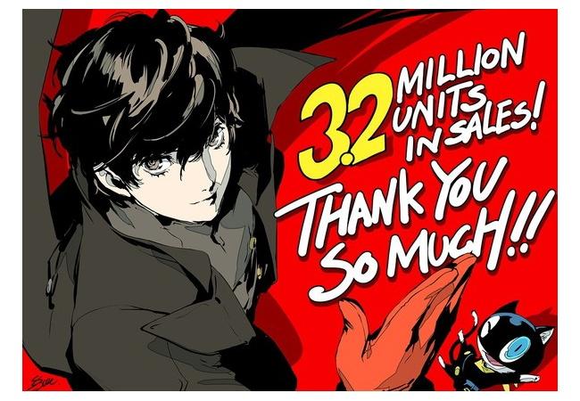 【朗報】ペルソナ5ロイヤル、国内40万本達成!P5は全世界累計320万本突破!!