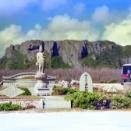 【サイパン】【玉砕の島はいま】(下)島に眠る2万5千人 75年後のバンザイクリフは…