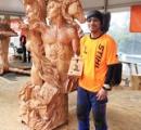 【画像】チェーンソー世界大会で優勝した日本人の作品が凄い
