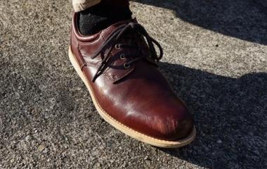 『お気に入りの革靴が・・・   Ughhh, My Favorite Leather Shoe...』の画像