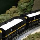 『KATO 伯備線 石灰輸送貨物列車 入線』の画像
