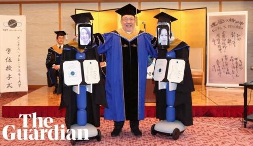 大前研一氏のBBT大学で「アバターロボット卒業式」が行われ海外で話題に