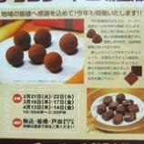 『芥川製菓チョコレート直販セール』の画像