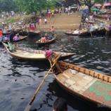 『バングラ ダッカの街歩き と 黒い河ショドル・ガット』の画像