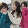 渋谷凪咲「Queentetなぎさえゆーり、3人で居るといつもおだやかな時間、すき」吉田朱里「私、、、」