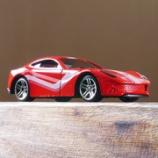 『ダイソー スポーツカー(ミニ) フェラーリ』の画像