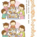『【オリジナル】ホットケーキづくりまちがいさがし』の画像