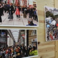 秋葉神社「秋の大祭」前の大掃除 ただ今写真展やってます!