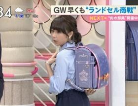 【画像】TBS宇垣美里アナ(24)がランドセル姿を披露 これが合法ロリか