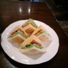 『昼食に食べたサンドイッチ』の画像