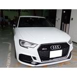 『【スタッフ日誌】Audi RS3にYupiteru SUPER CAT LS10のお取り付けさせて頂きました!』の画像