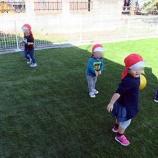 『初!庭遊び』の画像