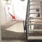 世界珍物件。部屋の真ん中にプールがある謎の家(アメリカ)