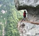 登山道で道譲る 譲られた人 落ちて死亡