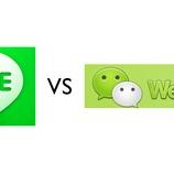 『アジアを取るのはLINE?それともWeChat?アプリ市場で一進一退【湯川】』の画像