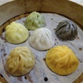 小鮮肉創意湯包 6種類の味が楽しめる!繊細で大胆なカラフル小籠包