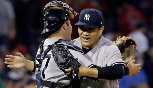 ヤンキース田中将大がレッドソックスに完封勝利、球数は僅か97球