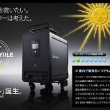 『家庭向け大型蓄電池 1台100万円台?!』の画像