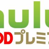 『huluとFODプレミアムの違いは何?比較してみました!』の画像