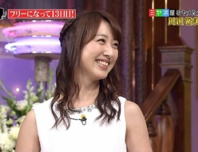 川田アナが「しゃべくり7」でフェラ顔披露wwwwwwww
