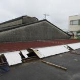 『四日市にて倉庫の雨漏り修繕|折板屋根の重ね葺き』の画像