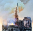 「パリはもう二度と元には戻れない...」 ノートルダム寺院炎上に市民ら涙 ★5