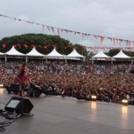 中川翔子、ROCK IN JAPANのステージでセミの抜け殻を客席にぶちまけるwwwwwwwww【グロ注意】 アイドルファンマスター