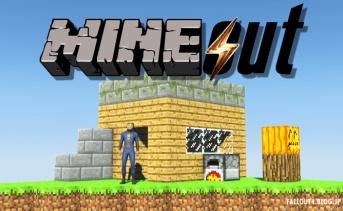 マインクラフト+フォールアウト『Mineout』
