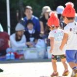 『子どもも親も初めての運動会!子どもは競技を頑張り、パパは撮影を頑張った!』の画像
